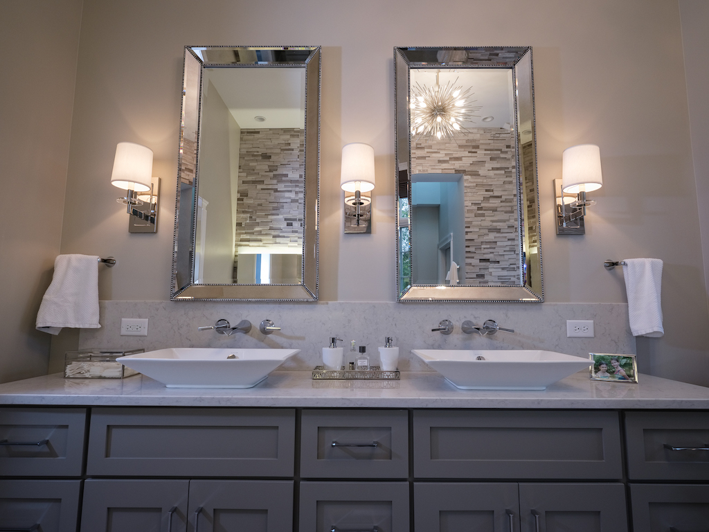 Naperville New Construction Desa Design Studio - Bathroom vanities naperville